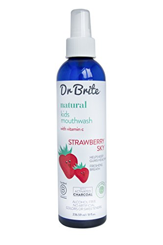 Dr-Brite-Natural-Kids-Mouthwash-Strawberry-Sky-8-Fluid-Ounce-0